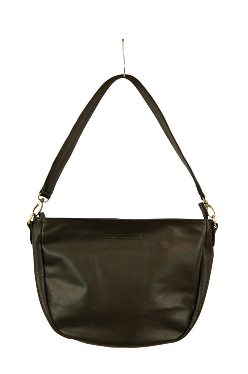 Nancy Black Leather Front
