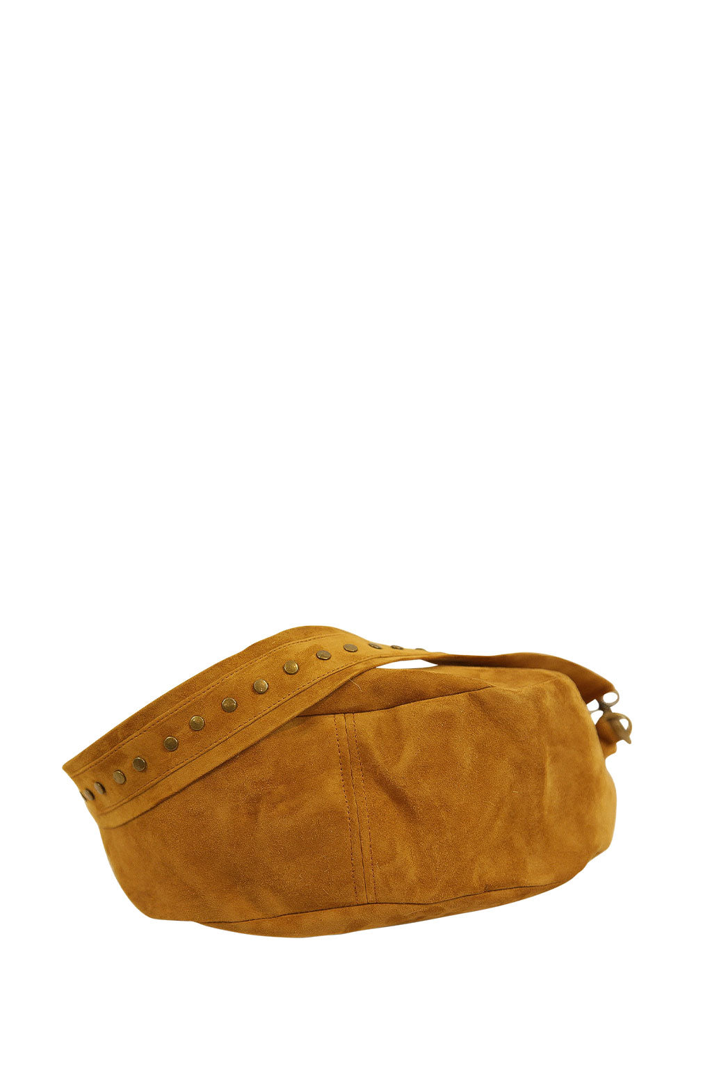 Nancy Tan Suede with Studded Strap Bottom