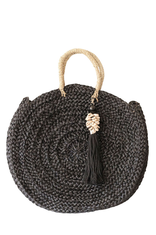 Sandy Bag Shell Tassel Sleek