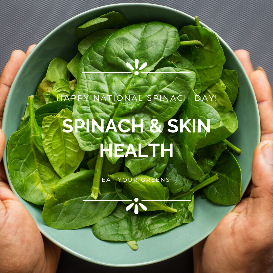 Spinach is a Win for Your Skin