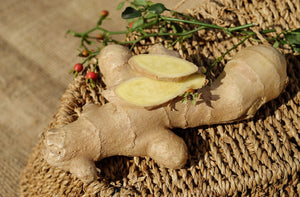 Why do I use Ginger powder in my firming/cellulite products?