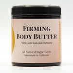 Firming Coffee Scrub and Body Butter for cellulite