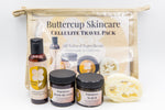 Skin Firming Travel Pack -  Body Butter, Massage oil and Coffee scrub