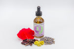 Dry Skin Facial Oil with Rose Hips and Lemongrass