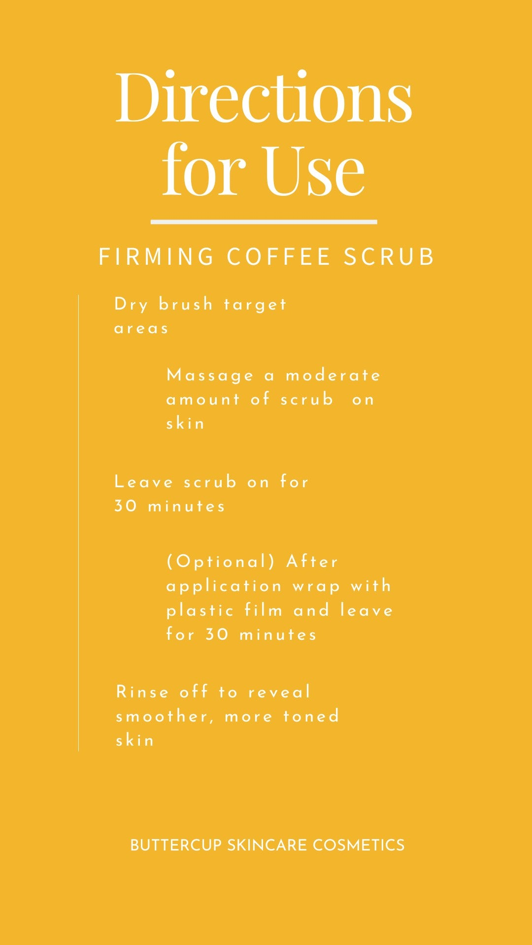 Firming Coffee Scrub with Manuka Honey and Rosemary for cellulite - 8 oz