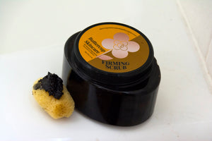 Firming Coffee Scrub with Manuka Honey and Rosemary - 8 oz