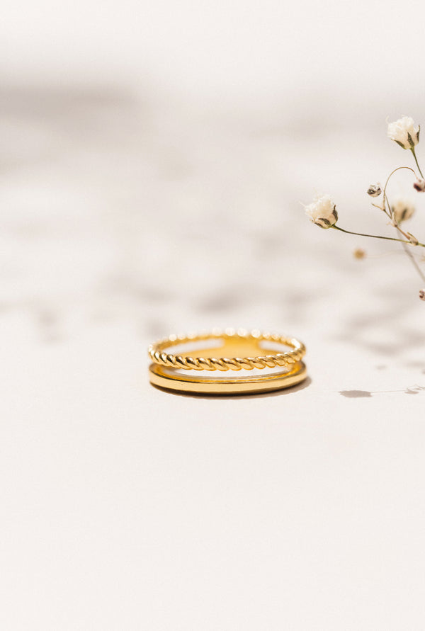 DUETTO GOLD RING