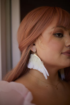 Wing Earrings by Stonehart