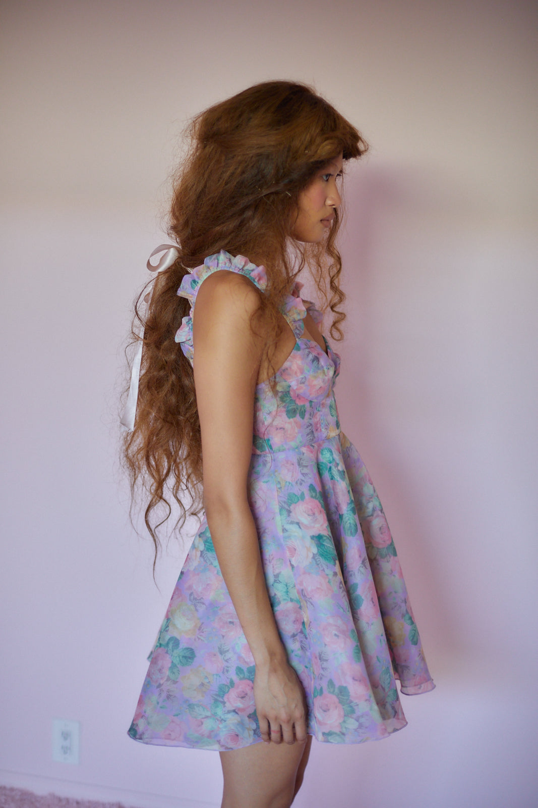 The Cabbage Rose Sunny Dress