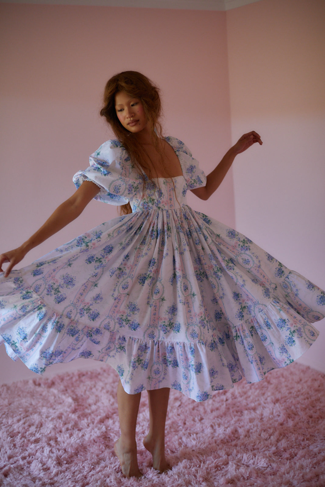 La Belle Etoile French Puff Dress *PRE ORDER*