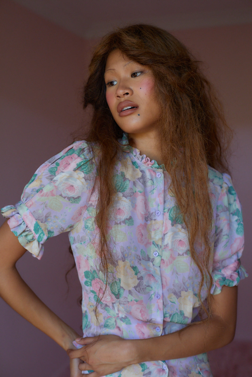 The Cabbage Rose Bistro Blouse
