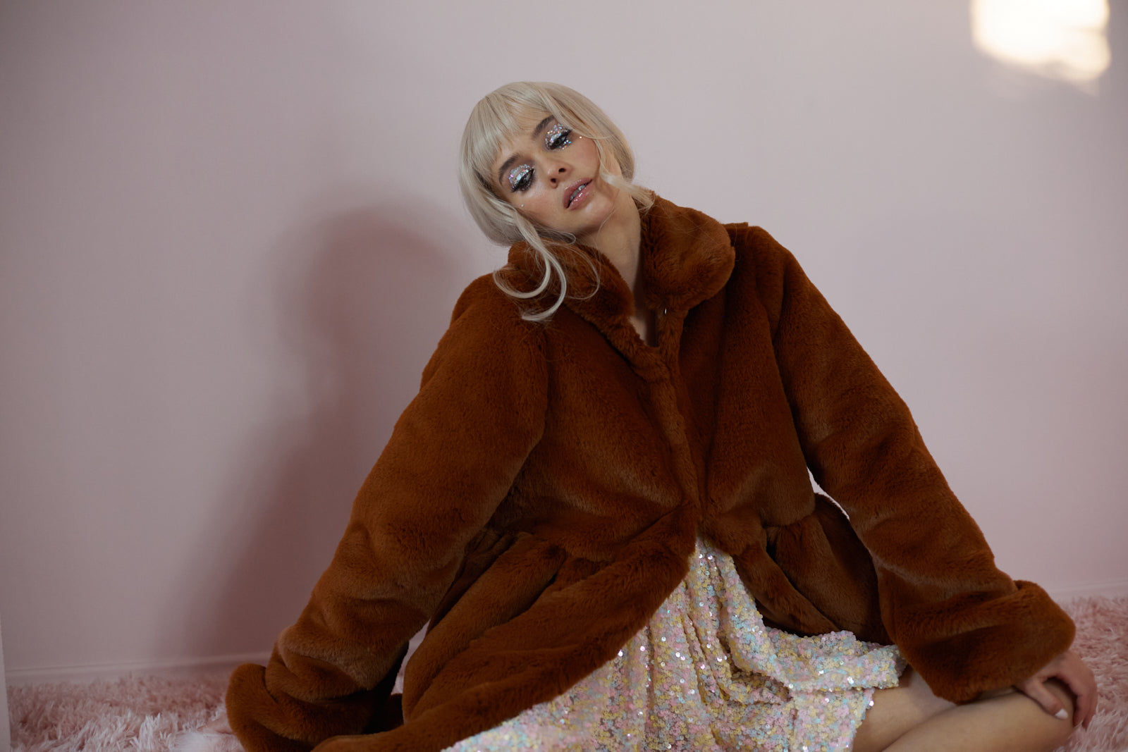 The Fox Babydoll Coat