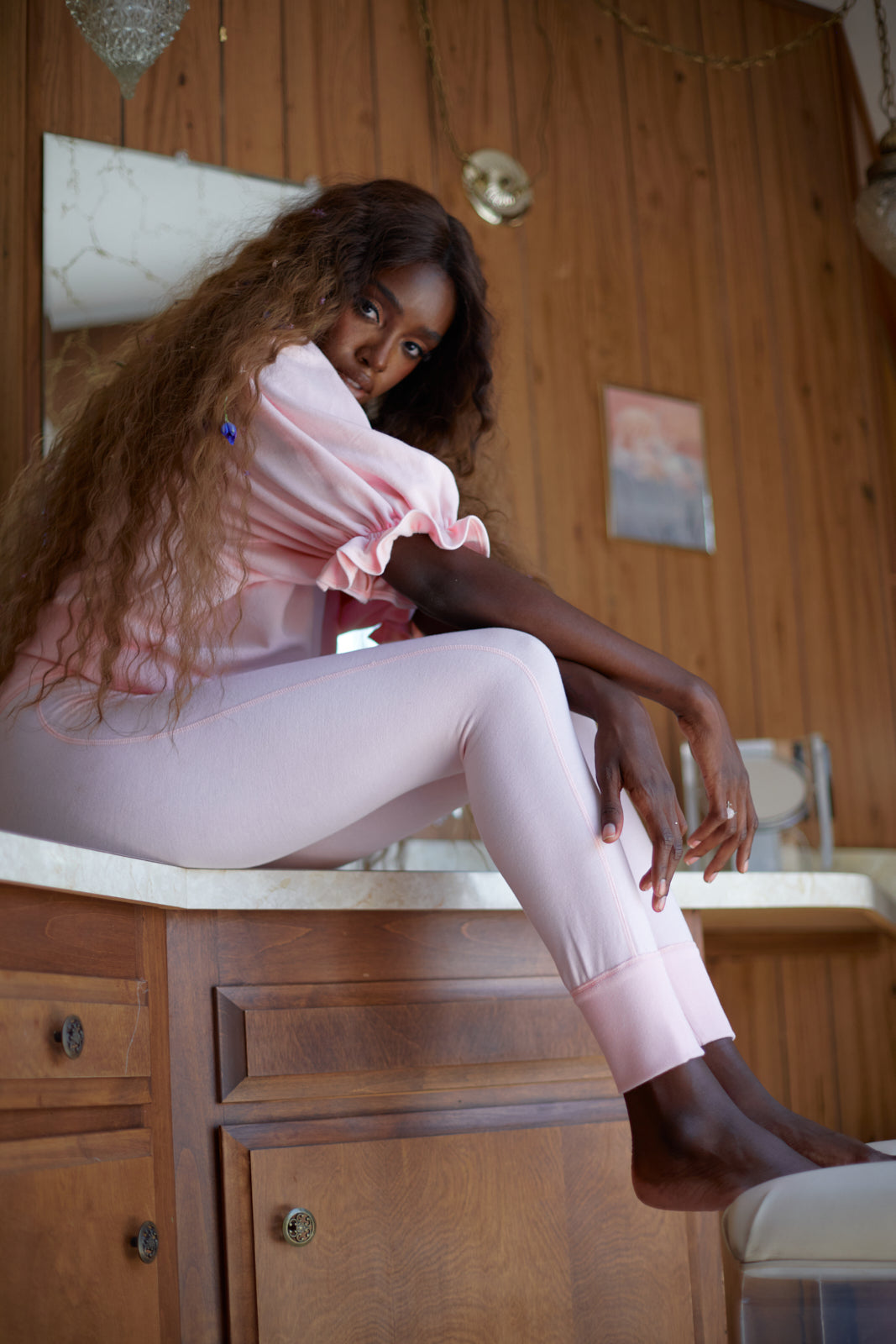 The Baby Pink Legging