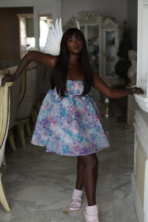 The Pastel Floral Cupcake Dress