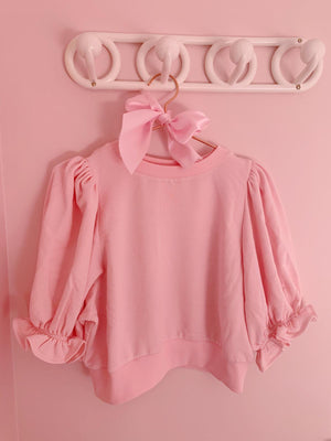 The Baby Pink Minnie Sweater