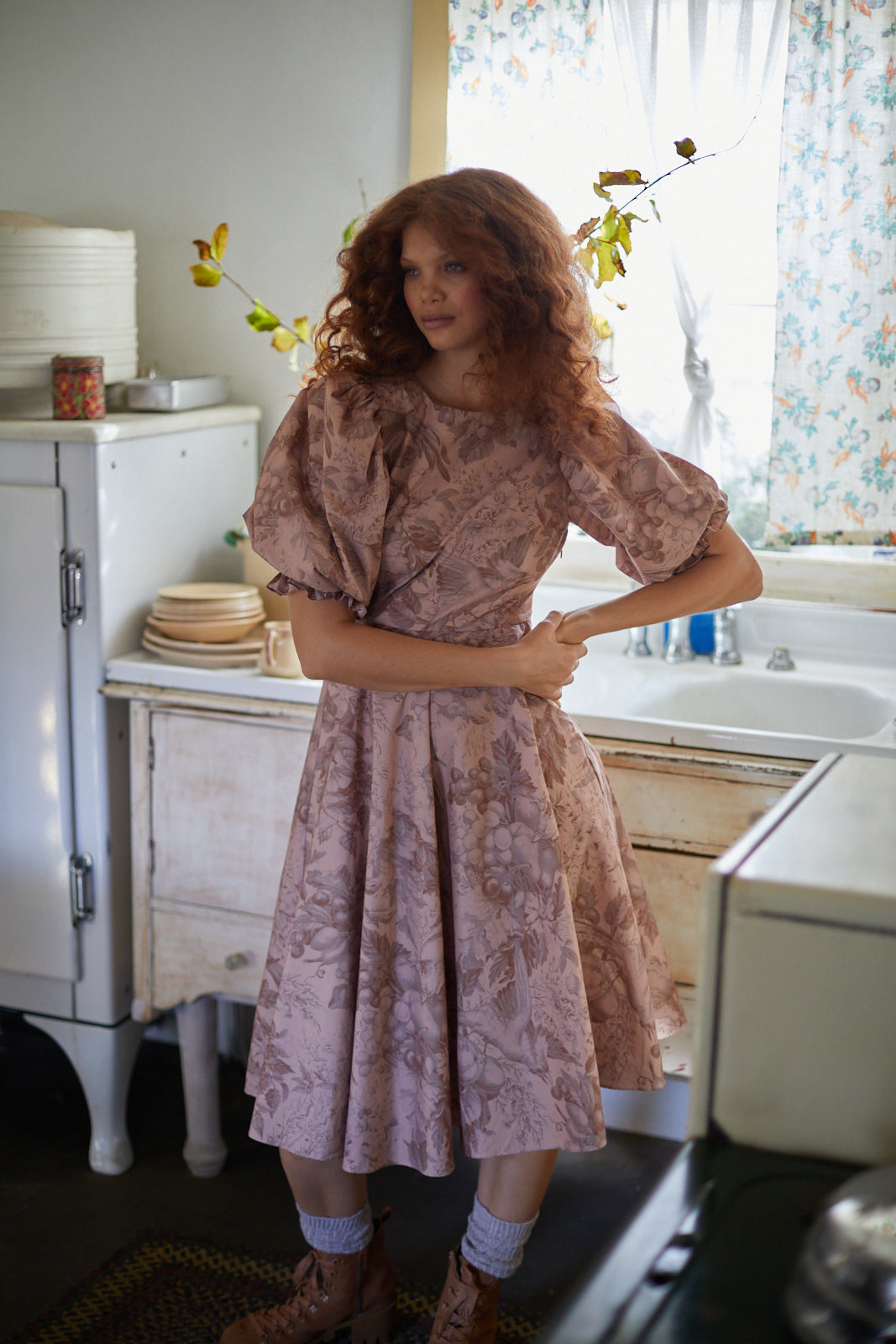 The Autumn Toile Sunroom Dress