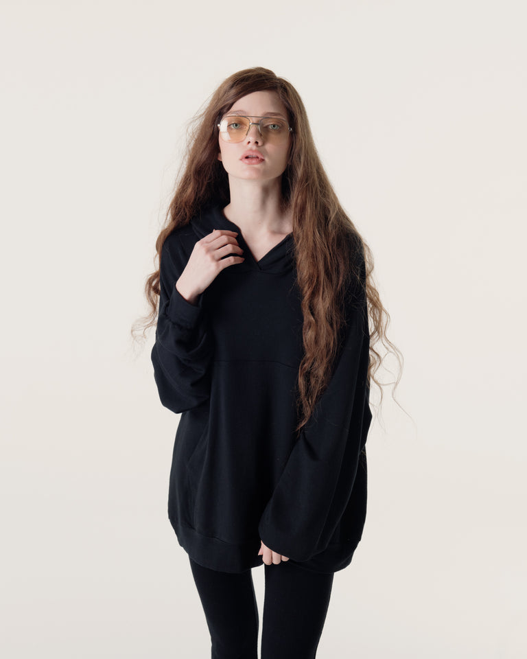 The Pillow Hoodie, Black