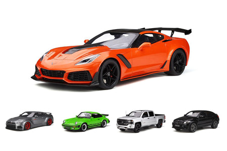 Pre-Order Alert: 1:12 Chevrolet Corvette ZR1 + More Models From GT Spirit