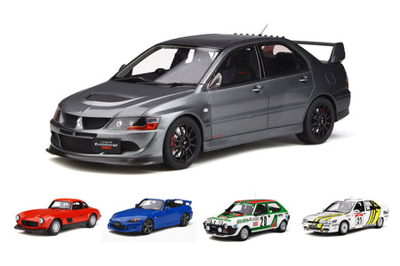 Pre-Order Alert: Mitsubishi Lancer EVO 8 By Ottomobile + More!