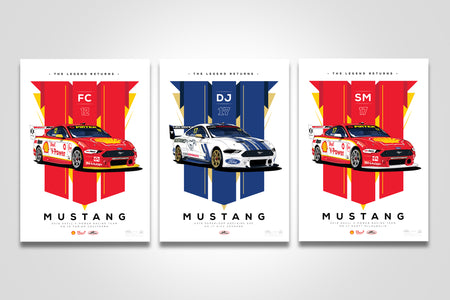 Pre-Order Alert: 2019 Dick Johnson / Shell V-Power Racing Team Mustang Limited Edition Prints