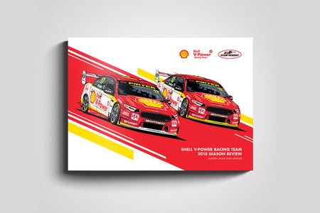 Pre-Order Alert: Shell V-Power Racing Team 2018 Season Review Collectors Book