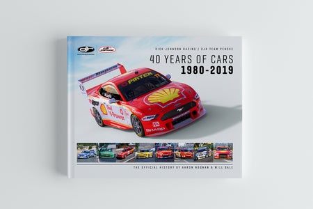 Pre-Order Alert: Dick Johnson Racing / DJR Team Penske 40 Years of Cars: 1980-2019 Hardcover Book