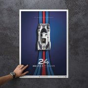 Porsche 917 - Martini - 1971 24h Le Mans Winner - Collector's Edition Print