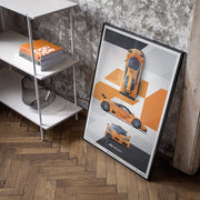 McLaren F1 LM - Papaya Orange Print