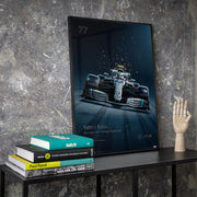Mercedes-AMG Petronas Motorsport - 2019 Valtteri Bottas - Collector's Edition Print