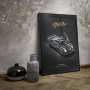 McLaren F1 GTR - 1995 24h Le Mans Winner - Collector's Edition Print