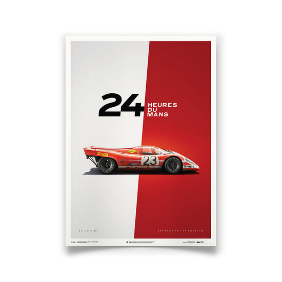 Porsche 917 1970 LeMans 24HR Winner Print