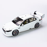 1:18 Ford FGX Falcon Supercar White Plain Body Edition
