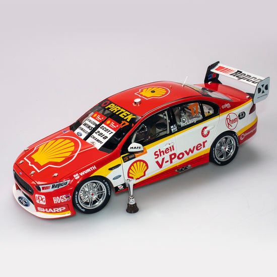 1:18 Shell V-Power Racing Team #17 Ford FGX Falcon Supercar 2018 Championship Winner