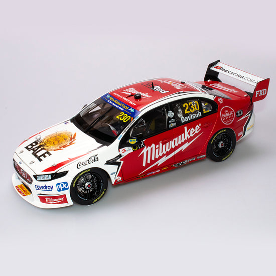 1:18 23 Red Racing #230 Ford FGX Falcon Supercar 2018 VASC Season