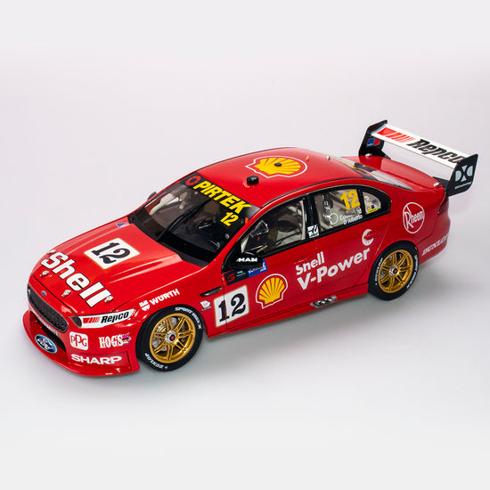 1:18 Shell V-Power Racing Team #12 Ford FGX Falcon 2018 Sandown 500 Retro Round