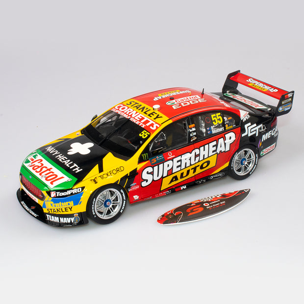 1:18 Supercheap Auto Racing #55 Ford FGX Falcon - 2018 Vodafone Gold Coast 600 Winner - Drivers: Chaz Mostert / James Moffat
