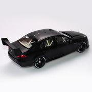 1:18 Ford FGX Falcon Supercar Matte Black Plain Body Edition