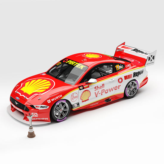 1:18 Shell V-Power Racing Team #17 Ford Mustang GT Supercar - 2020 Championship Winner