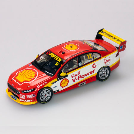 1:43 Shell V-Power Racing Team #12 Ford FGX Falcon Supercar 2018 VASC Season