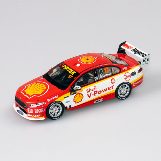 1:43 Shell V-Power Racing Team #17 Ford FGX Falcon Supercar 2018 Championship Winner