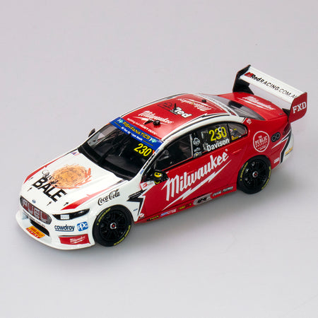 1:43 23 Red Racing #230 Ford FGX Falcon Supercar 2018 VASC Season