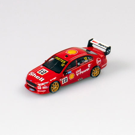 1:64 Shell V-Power Racing Team #12 Ford FGX Falcon 2018 Sandown 500 Retro Round