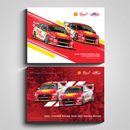 Shell V-Power Racing Team 2018/2019 Season Review Collectors 2 Book Bundle (Pre-Order)