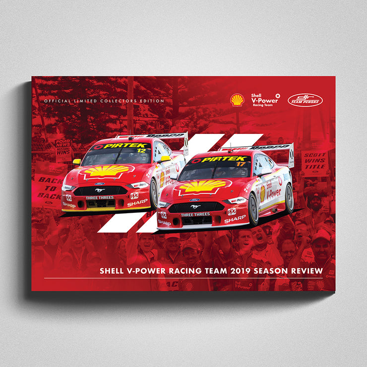 Shell V-Power Racing Team 2019 Season Review Collectors Book