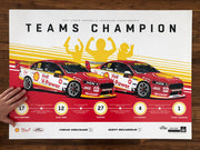 Shell V-Power Racing 2017 Teams Champion Print