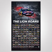 The Lion Roars: 108 Championship Race Wins For Holden VF Commodore Photographic Print