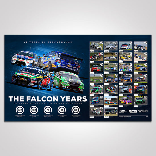 The Falcon Years: FPR / PRA / Tickford Racing Photographic Print