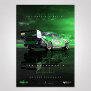 2019 The Bottle-O Racing #5 Ford Mustang Lee Holdsworth Print