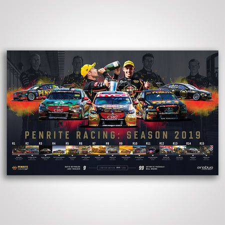 Penrite Racing: Season 2019 Limited Edition Print