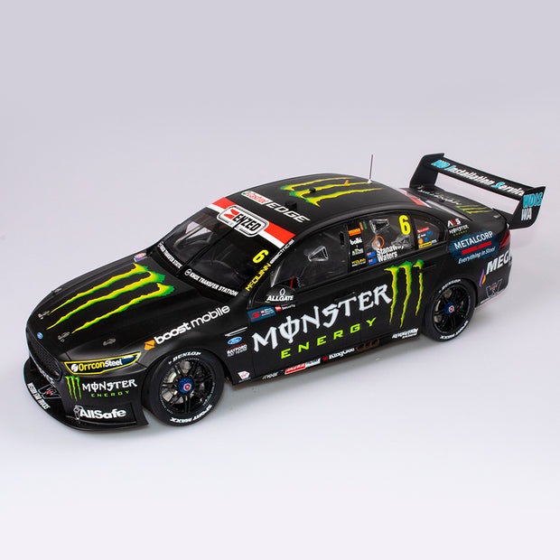 1:12 Monster Energy Racing #6 Ford FGX Falcon - 2017 Sandown 500 Winner - Drivers: Cam Waters / Richie Stanaway